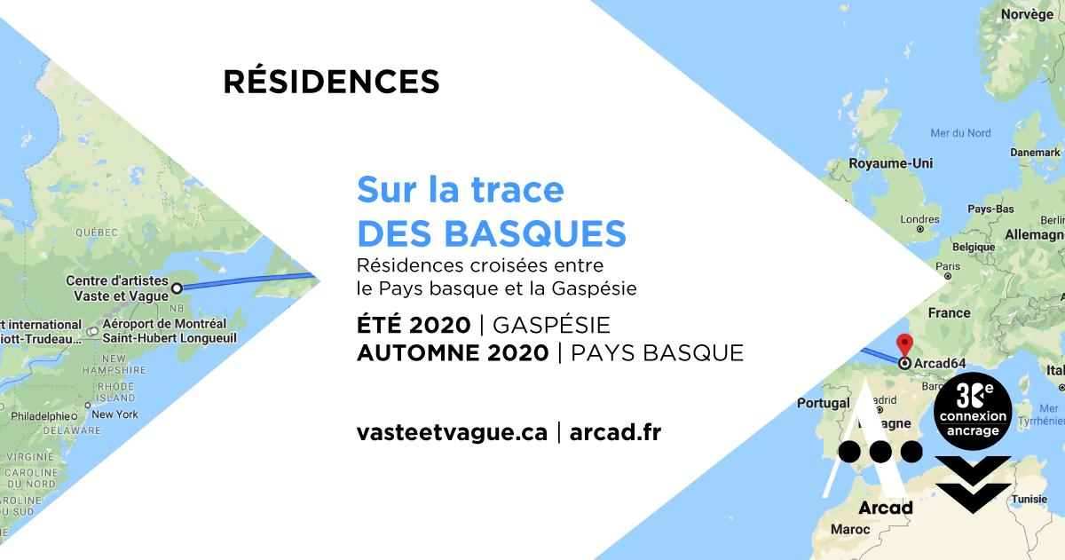 SUR LA TRACE DES BASQUES | 2020 | Résidences croisées