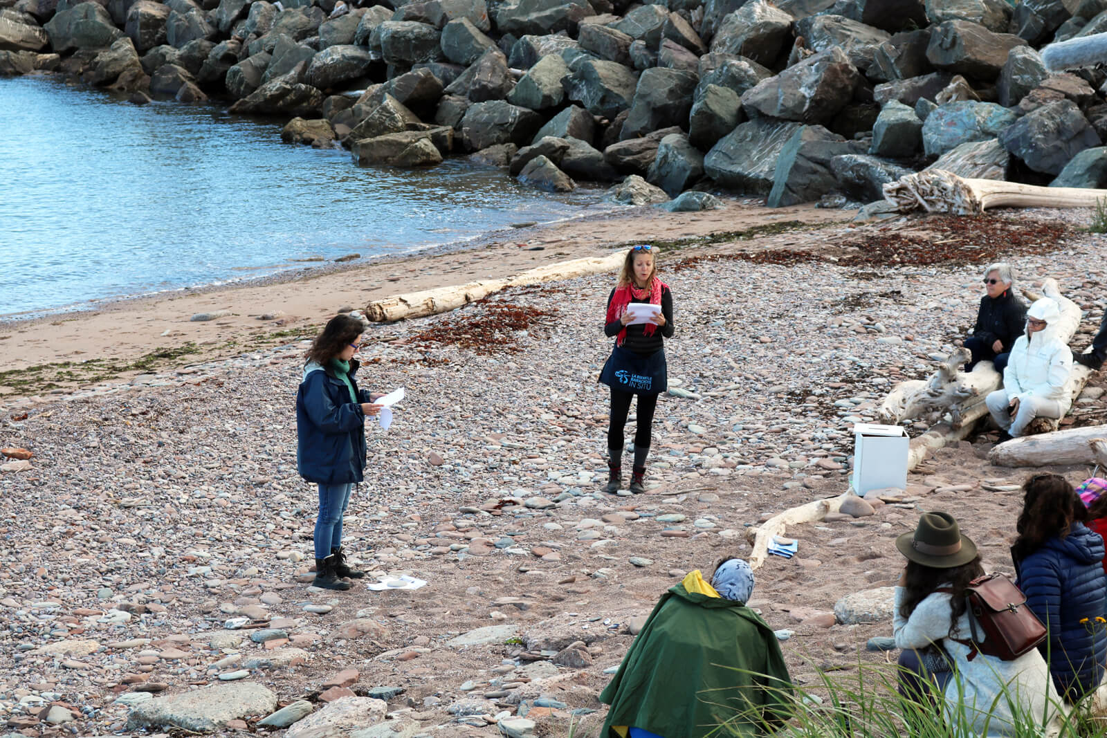 DUO 3/5 | Joëlle HENRY et Claire MOEDER | Off Barachois In Situ 2020