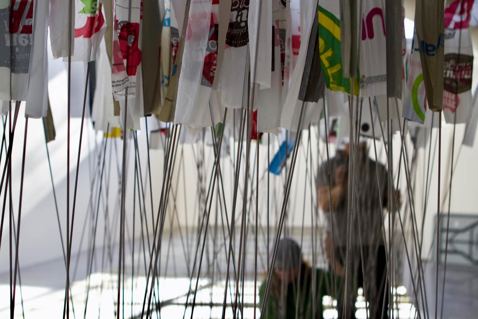 AFIN D'ÉVITER TOUS CES NŒUDS | Installation | Ludovic BONEY 1600X609