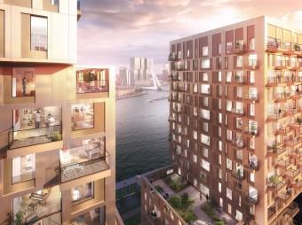 Amvest koopt woontoren aan De Boompjes in Rotterdam van APF/Ares