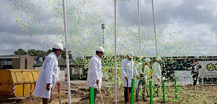 Feestelijke start bouw Oostweide in Heiloo