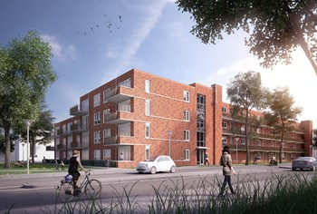40 huurwoningen Van Reeshof in Nieuwegein opgeleverd