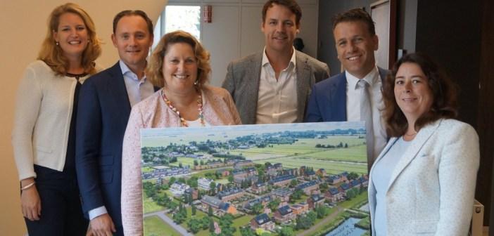 Timpaan en BAM Wonen tekenen realisatieovereenkomst voor Nieuw Weideveld fase 2 in Bodegraven