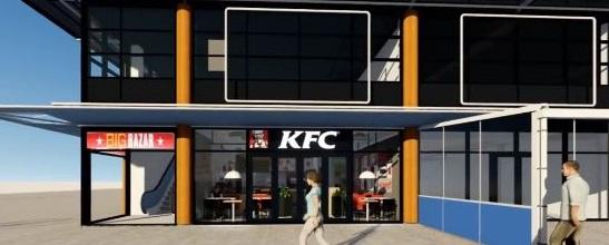 Kentucky Fried Chicken (KFC) huurt in winkelcentrum 'In de Bogaard' aan Bogaardplein 5 Rijswijk