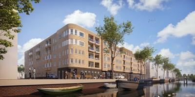 Bouwinvest koopt deel zorgcomplex Life in Houthaven Amsterdam