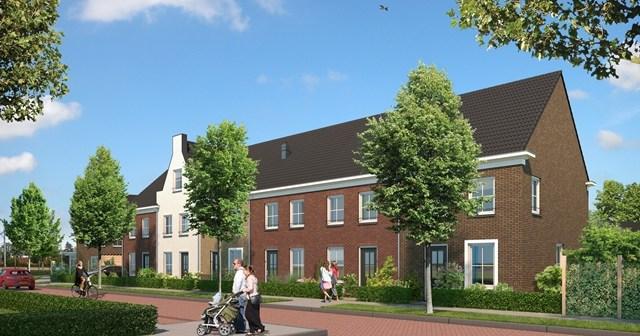 Startsein nieuwe fase woonwijk Façade in Deurne