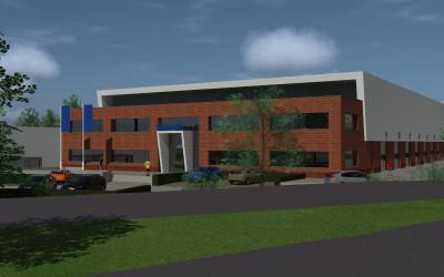 Nieuw te bouwen distributiecentrum Den Bosch verhuurd aan postbedrijf Sandd