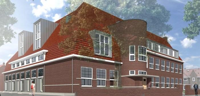 22 stadsappartementen in voormalige Hobbemaschool