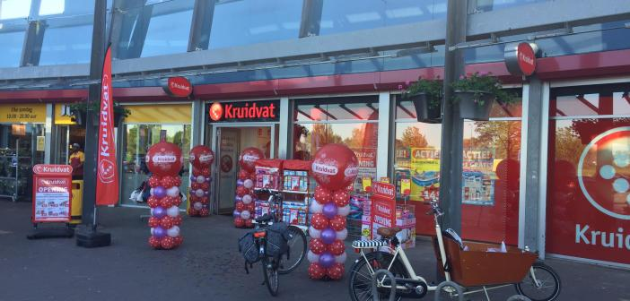 Kruidvat opent nieuwe winkel in Woerden