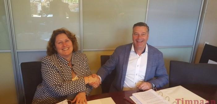 Timpaan en Henselmans tekenen realisatieovereenkomst De Linde Exclusief