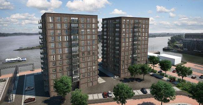 Hurks en Van Wijnen verkopen 59 appartementen van De Schans Boeit aan Syntrus Achmea RE&F