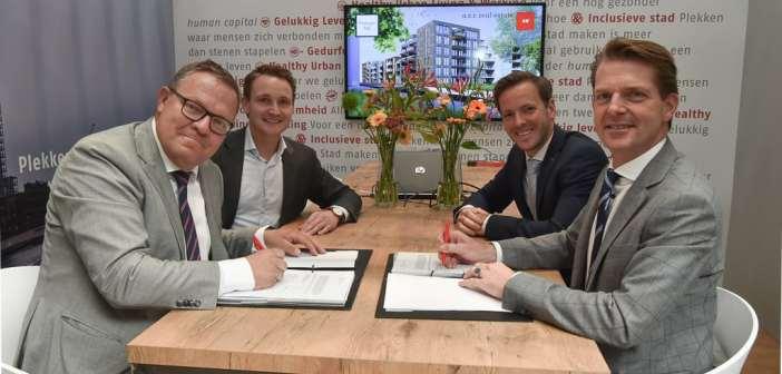 a.s.r. real estate en AM sluiten overeenkomst voor 43 woningen in Brouwershof Veenendaal