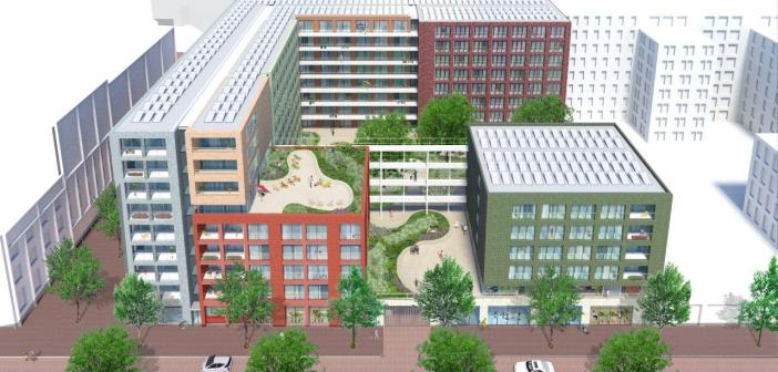 Overeenkomst eerste XS Deluxe appartementen in de Houthaven Amsterdam, getekend