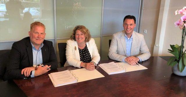 Timpaan, IBB Kondor en Bébouw Midreth tekenen realisatieovereenkomst 84 gasloze woningen in Hoofddorp