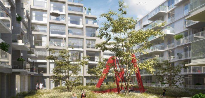Amvest start bouw woningen Aan het IJ