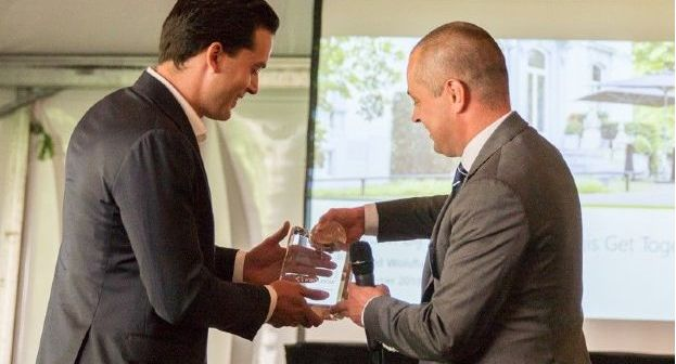 Douglas van Oers 'Prologis Broker of the year'