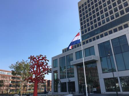 Koning opent gerechtsgebouw Breda