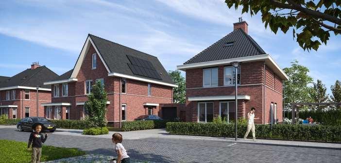 Wethouder Ferraro verricht officiële handeling start bouw laatste fase Broekpolder in Beverwijk