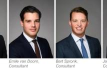Cushman Wakefield benoemt vier nieuwe adviseurs in team industrieel vastgoed