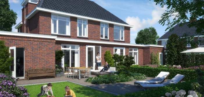 Wethouder Hoekstra verricht officiële handeling start bouw Park Hooglede in Vlaardingen