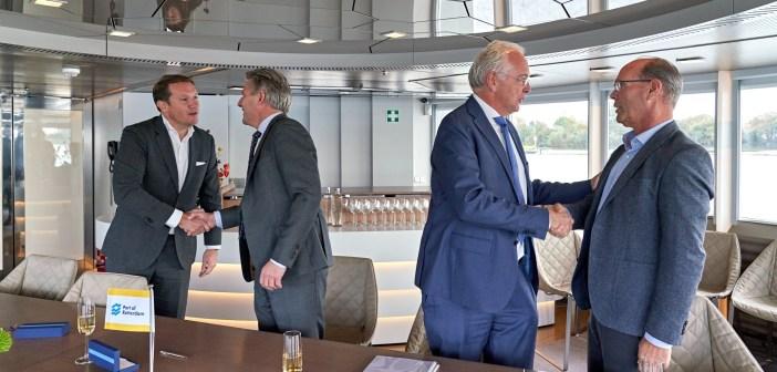 'Breakbulkcarrousel' geeft stukgoed- en zware ladingbedrijven ruimte voor verdere groei in Rotterdamse Waalhaven