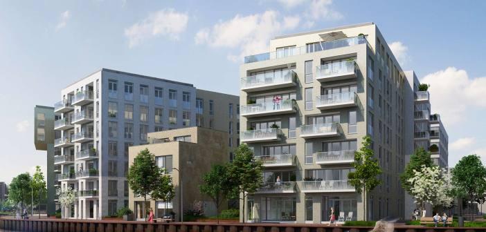 AM geeft startsein bouw Cruquiuswerf voor fraai wonen aan het water in Amsterdam-Oost