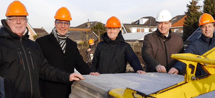 Start nieuwbouw De Lieverhof Nijkerk