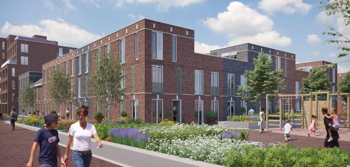 AM en Dura Vermeer geven startsein bouw 22 woningen in Hefkwartier in Rotterdam
