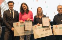 NRW Kennis & Innovatie Award 2019 naar onderzoek 'Horeca in winkelcentra' en 'Retail in 2030'