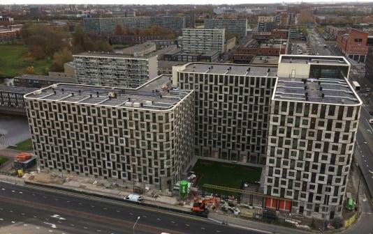 Circa 600 sociale huurwoningen Project Change= (Jongerenhuisvesting) Amsterdam Zuidoost opgeleverd