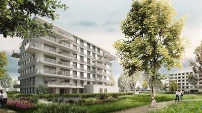 Bouwinvest Healthcare Fund eigenaar van woningen Oranjewoud, Heerenveen
