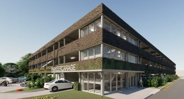 Aan de Stegge Twello realiseert parkeergarage LangeLand Ziekenhuis Zoetermeer