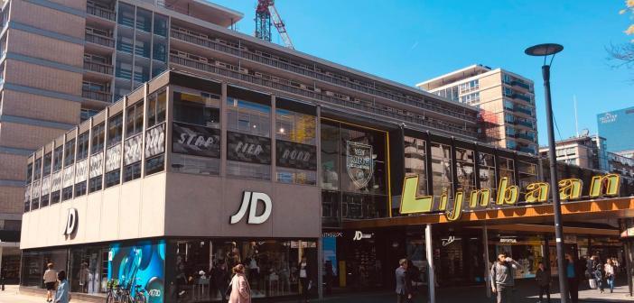 Syntrus Achmea verhuurt markant pand in centrum Rotterdam aan JD Sports