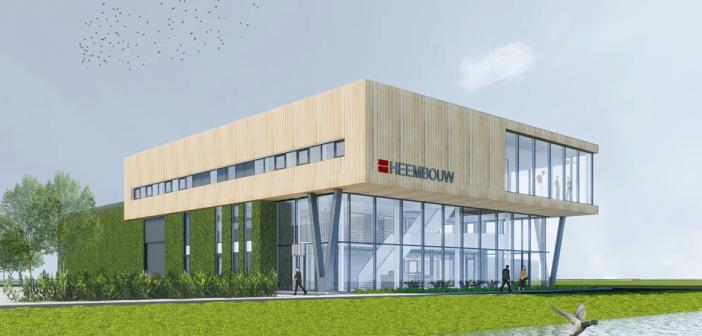 Circulair ontwerp voor nieuwe huisvesting Heembouw Kantoren