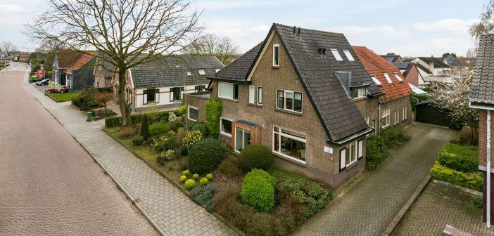 Vrijstaand woon-/zorggebouw verkocht aan de Dorpsstraat 39 te Oosterhout