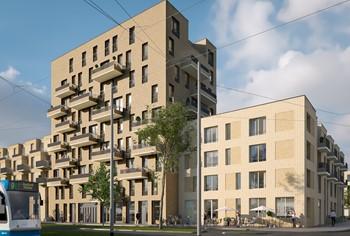a.s.r. real estate start bouw 102 appartementen in De Sniep in Diemen