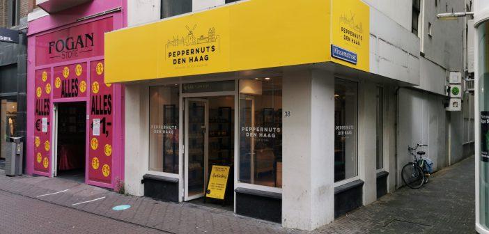 Peppernuts Den Haag huurt tijdelijk winkelruimte in Haagse Spuistraat