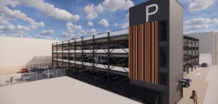 Aan de Stegge Twello en Q-Park realiseren tijdelijke parkeergarage Arsenaal Venlo