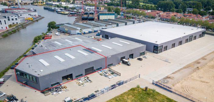 Akza Power Generation Europe B.V. huurt ca. 2.187 m2 bedrijfs-/kantoorruimte aan de Merwedestraat 48 in Dordrecht