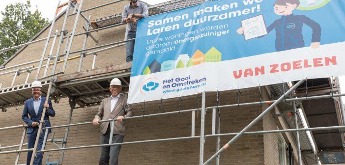 Het Gooi en Omstreken geeft startsein verduurzaming sociale huurwoningen in Laren