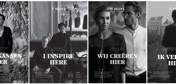 't Huys heet creatieve talenten en ondernemers welkom als bewoners