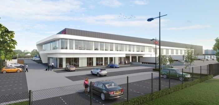 VolkerWessels Logistics Development sluit overeenkomst met SIG Nederland B.V. voor nieuw hoofdkantoor en warehouse
