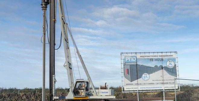 Start bouw op De Lus in Schagen voor multifunctionele opslagruimtes