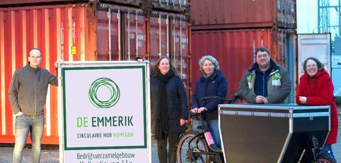De Emmerik opent Circulaire Hub Nijmegen op terrein ENGIE