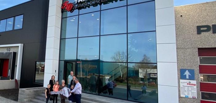 Heembouw levert bedrijfspand op aan Transport van Overveld