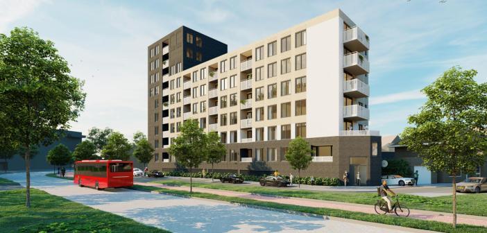 Newomij koopt 56 appartementen aan de Zuiderval in Enschede