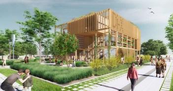 Nieuw circulair bouwconcept geselecteerd voor Rijksoverheidspaviljoen Floriade Expo 2022
