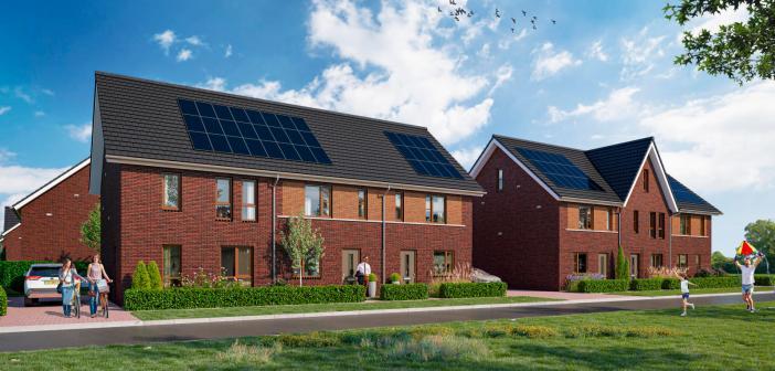Syntrus Achmea koopt 28 duurzame woningen in nieuwbouwwijk Kernhem in Ede