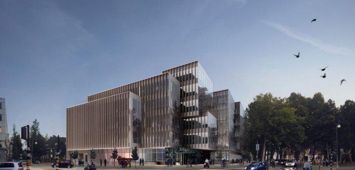 Kroonenberg Groep herontwikkelt Apollolaan 171 tot high end kantoorgebouw