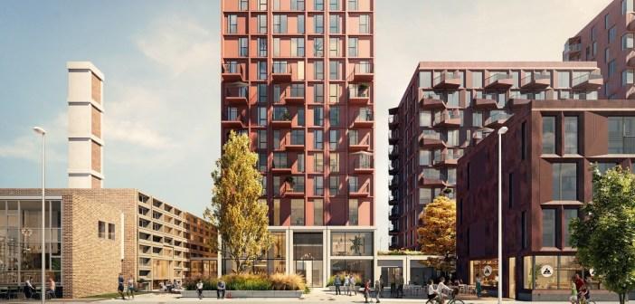 ASR Dutch Core Residential Fund koopt woningontwikkeling Plesman Plaza in Amsterdam van Flow Development en AVC